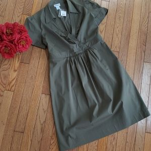 Motherhood Maternity Green Dress NWT